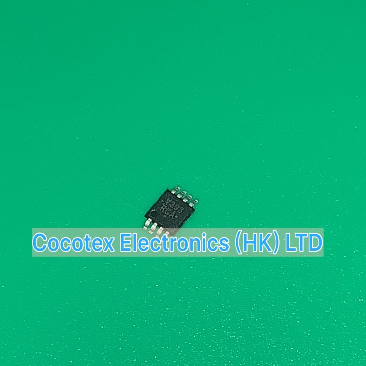 10 pçs/lote LMV393DMR2G MSOP8 V393 IC COMPARATOR GP LV DUAL MICRO8