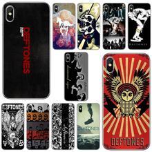 Skull-Rose-Deftones-OWL-Music-Band Cover For Xiaomi Redmi 2 S2 3 3S 4 4A 5 5A 5 6 6A 7A 9 9T 9C 9A P