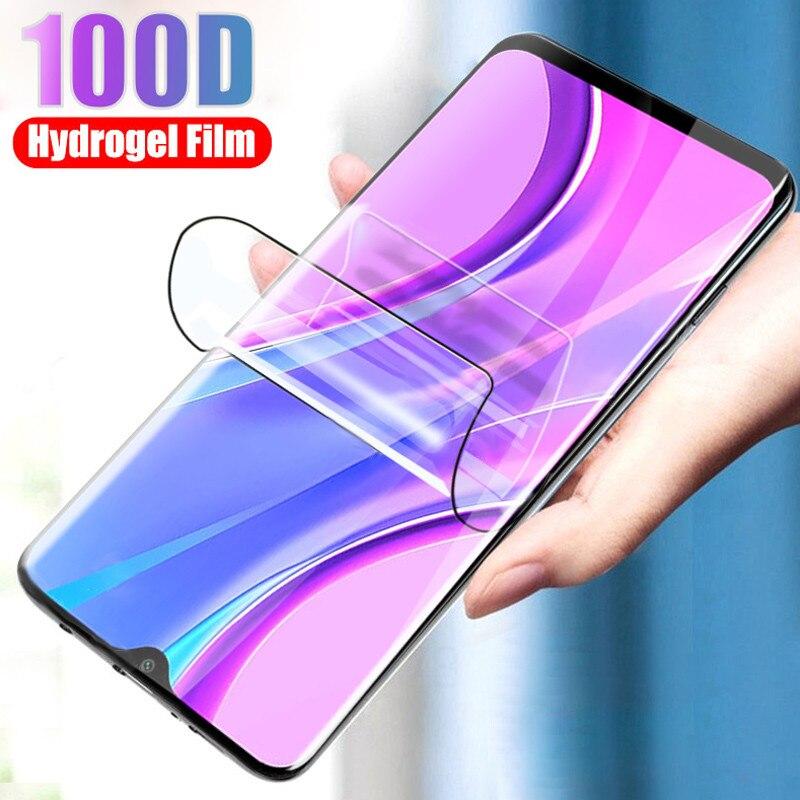 Full Cover Hydrogel Film For Oppo Realme 6i Screen Protector For Oppo Realme 6i  Case For Oppo Realm