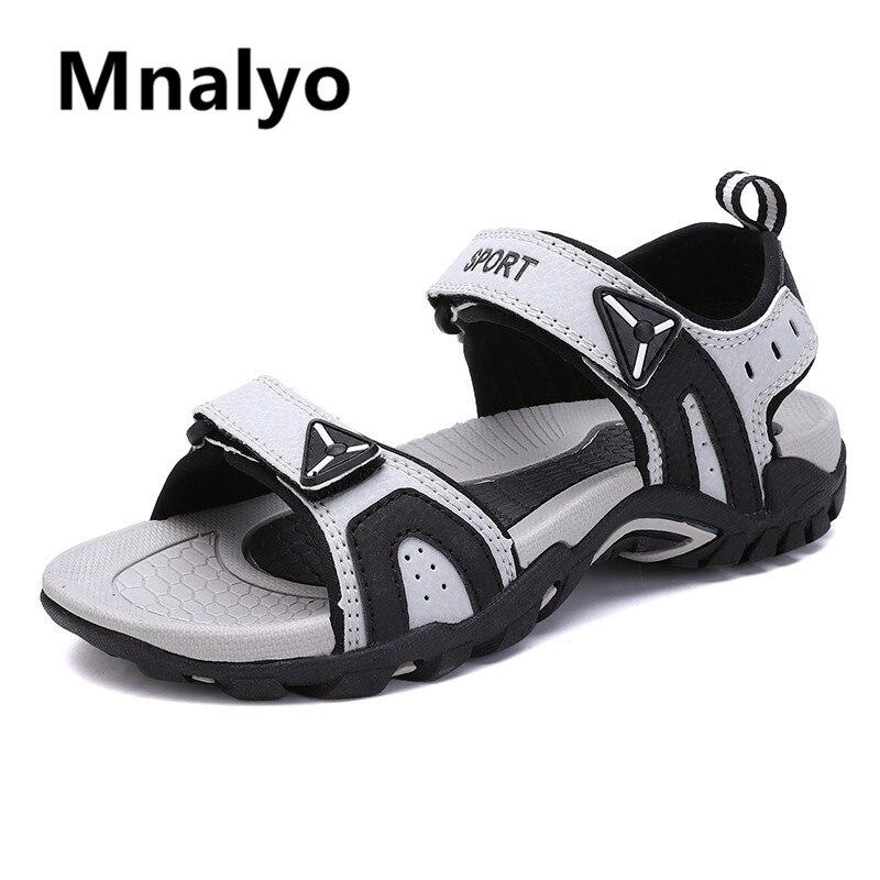 Fashion Man Beach Sandals 2020 Summer Gladiator Men's Outdoor Shoes Roman Men Casual Shoe Flip Flops Large Size 46 slippers Flat