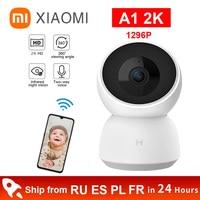 IP-камера Xiaomi mi Smart Home, 2K, 1296P, 1080P, HD, угол обзора 360 градусов