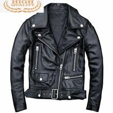 100% Real Sheepskin Coat Female Genuine Leather Jacket Autumn Winter Jacket Women Korean Motorcycle