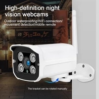 Q8 1080P IP Camera WIFI Waterproof 2MP Monitoring CCTV Wireless Smart Home IR Security Camera Camaras De Vigilancia Con Wifi