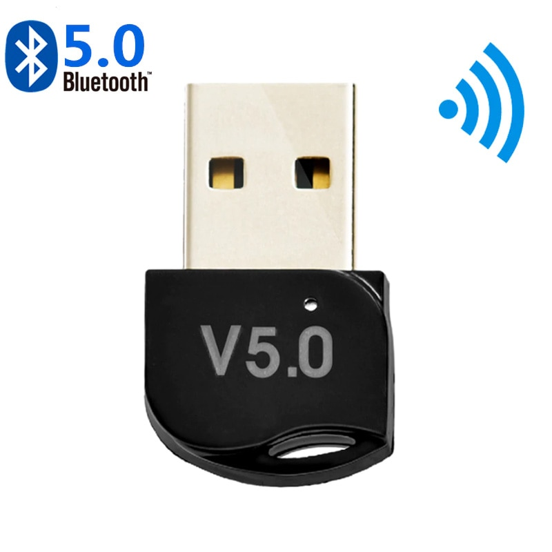 Bluetooth 5.0 Adapter Transmitter Bluetooth Receiver Audio Bluetooth Dongle Wireless USB Adapter For Computer PC Laptop
