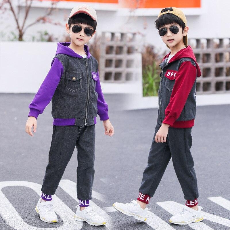 НОВЫЕ комплекты детской одежды на весну для мальчиков; Спортивные костюмы; Одежда для маленьких мальчиков; Детская одежда; Одежда с капюшон...