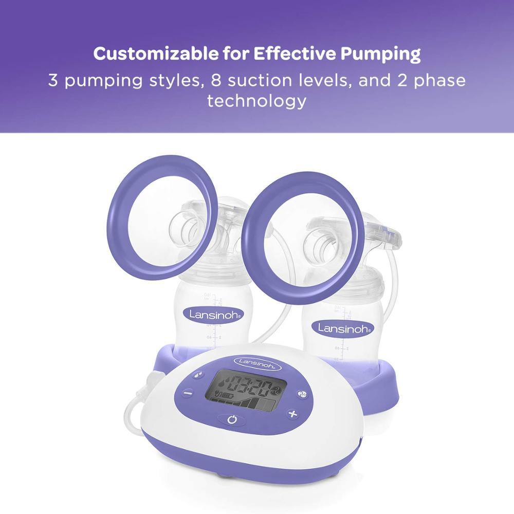 Lansinoh 2 in 1 Electric Breast Pump Milk Pumps enlarge