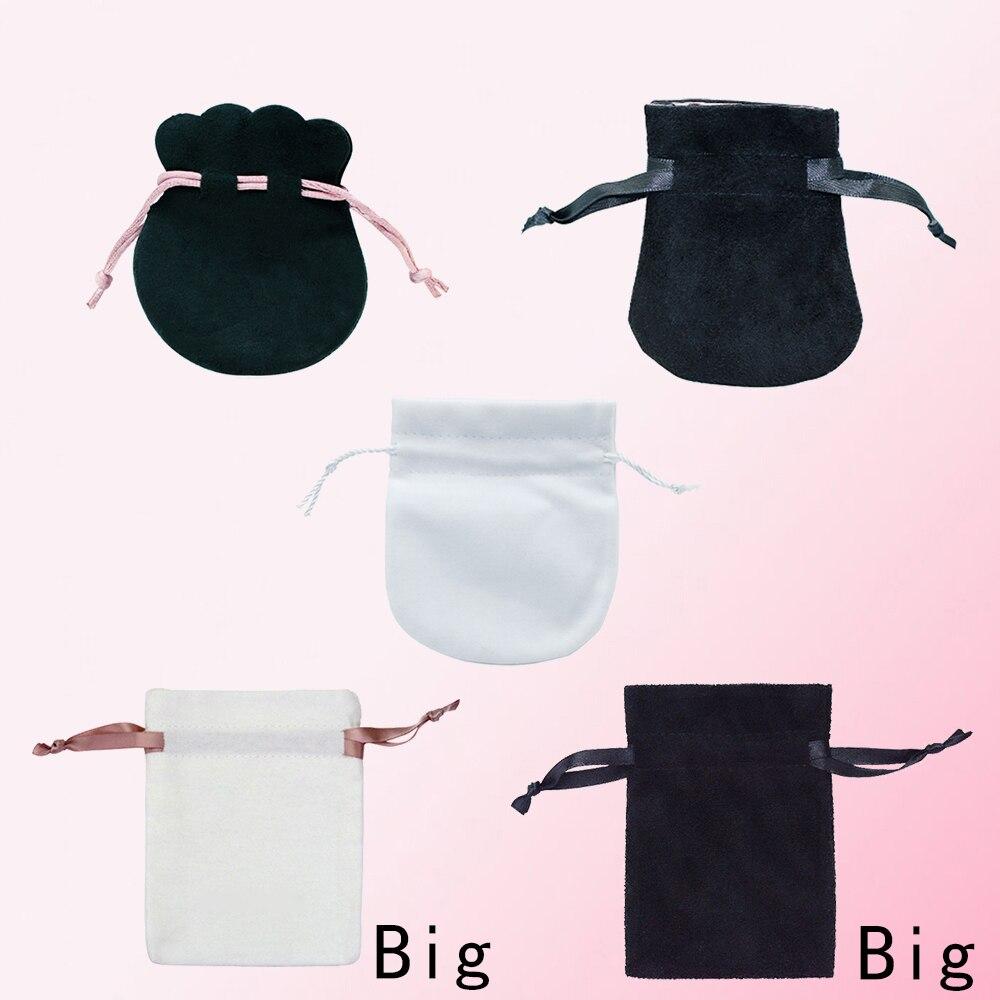 Fahmi Originele Customization Ring Oorbellen Charm Kralen Hanger Bescherming Gift Bag Mode-sieraden Prachtige Cashmere Tas
