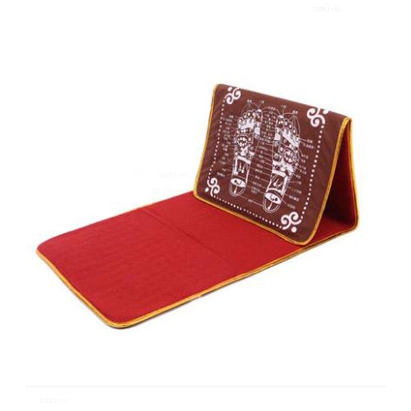 El dispositivo de masaje de pies saludable se refiere a la abrazadera, un cojín de masaje para pies, piedras de imitación, alfombra, suela de pie, manta para caminar