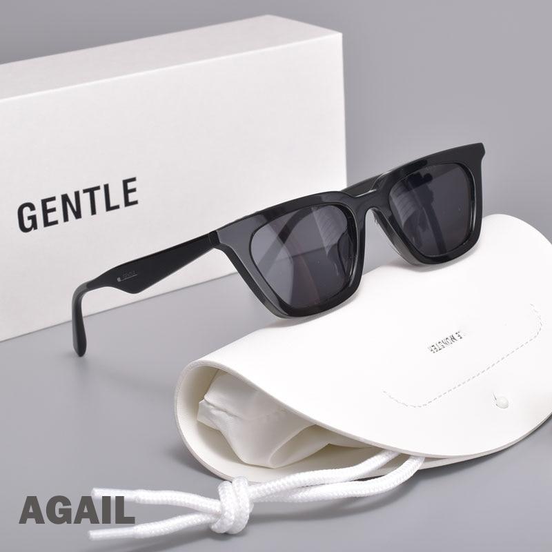 2021 New fashion high quality Cat eye Polarized  Women Sunglasses Gentle AGAIL  Retro Acetate lady Sun Glasses for women