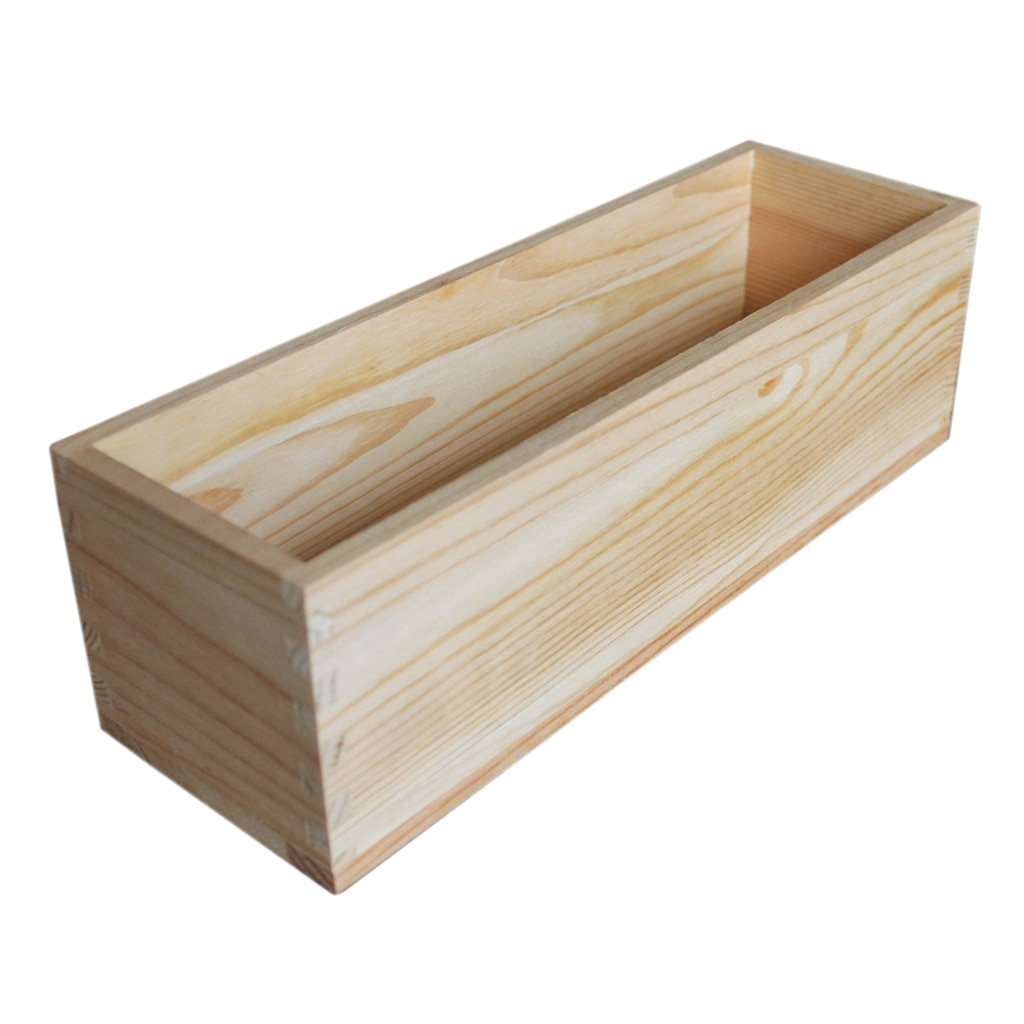Durable Rectangular Soap Mold Wood Box Tools Soap Toast Home Making Supplies nicole soaps beveler planer wood box for handmade soap making tools