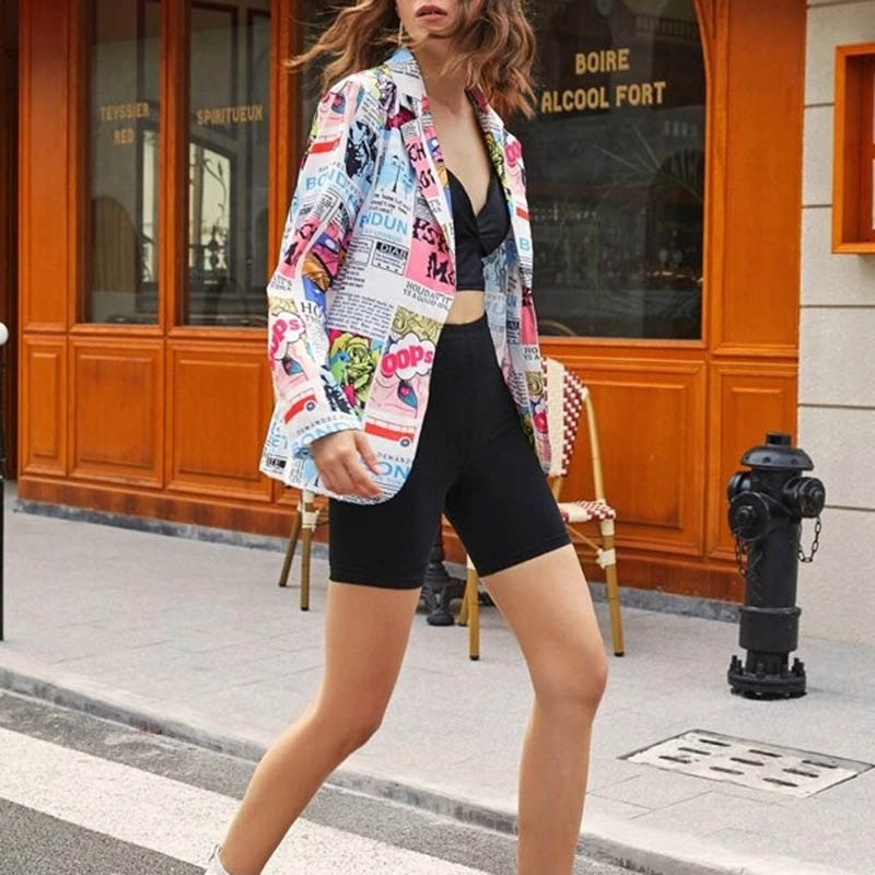 Heab9b28e54144423b035fd9b8561756dW Fashion Trend Women Lapel Leopard Print Long Sleeves Suit Jacket Elegant Fall Winter Office Lady Cardigan Coat Casual Streetwear