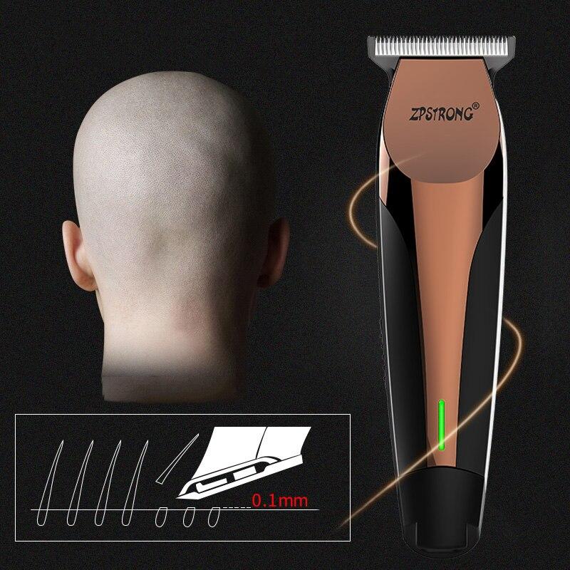 Профессиональный триммер для волос 100-240 В, электрическая машинка для стрижки волос для мужчин, триммер для бороды, машинка для стрижки волос, Беспроводная Машинка для стрижки 0 мм