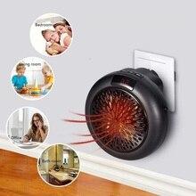 900W Mini chauffe-ventilateur électrique Portable Thermostat réglable ménage pratique chauffe-linge rapide et Simple chaleur instantanément