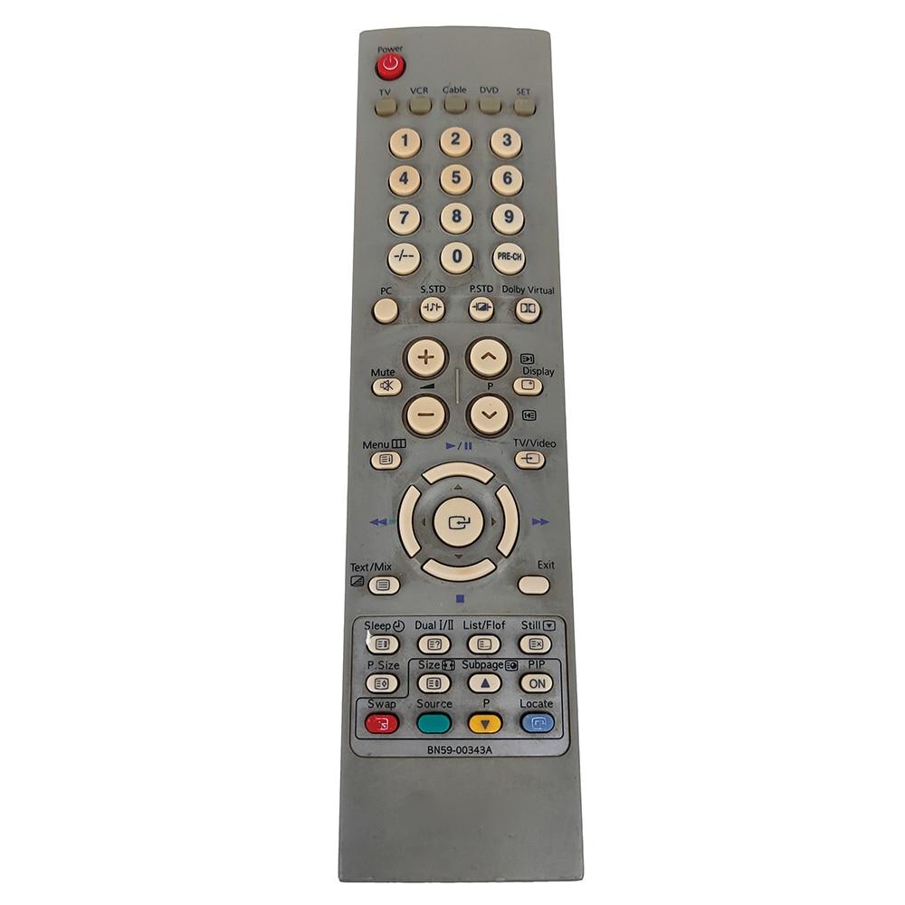 Bn59-00343a para Samsung Usado Original Controle Remoto Lw22a13wx Lw-22a13wr Fernbedienung tv Vcr Dvd