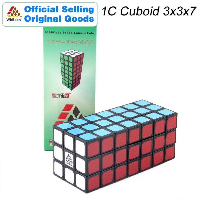 WitEden 1C Cuboid 3x3x7 магический куб 1688 куб 337 скоростей Скручивающиеся головоломки для мозга обучающие игрушки для детей
