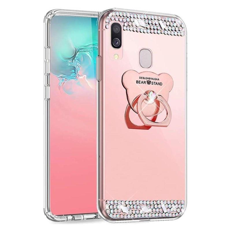 Honor 20 8X 7C 7A Pro Mirror Case Huawei P20 Lite P30 Pro P Smart Z 2019 Honor 10i 8A 8C 8 9 10 Lite 8s 7X, funda Coque