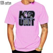 Новинка 2020, Мужская футболка, модная мужская футболка с принтом K9 Unit Dog Paw Security Shirtcotton 3dтенниски