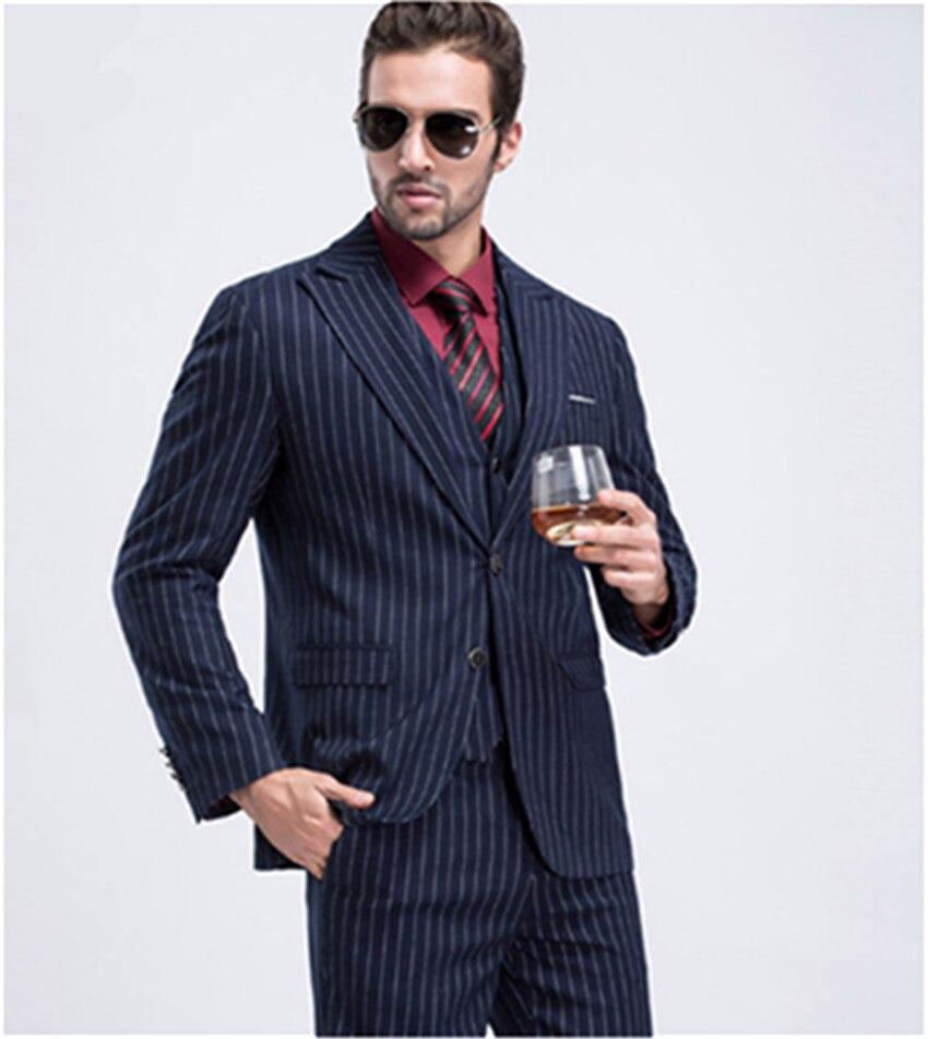 جديد 2020 بدلة فستان رجالي لحفلات الزفاف بدلة العريس أفضل رجل بدلة سهرة أداء (سترة + بنطلون + سترة)