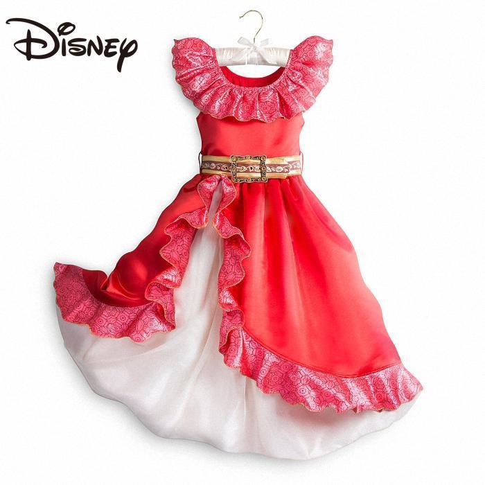 Disney Elena Princess Costume Girl Dress Children Princess Dress skirts for women cosplay long skirts for women skirt