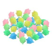 Sfere colorate solide della rondella del PVC sfere riutilizzabili dell'essiccatore della palla della lavanderia, collettore della lanugine per la lavatrice, groviglio libero