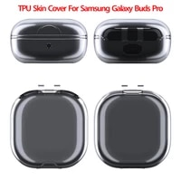 clear tpu skin cover for samsung galaxy buds pro wireless bluetooth headset shockproof protective cover shell for galaxy buds