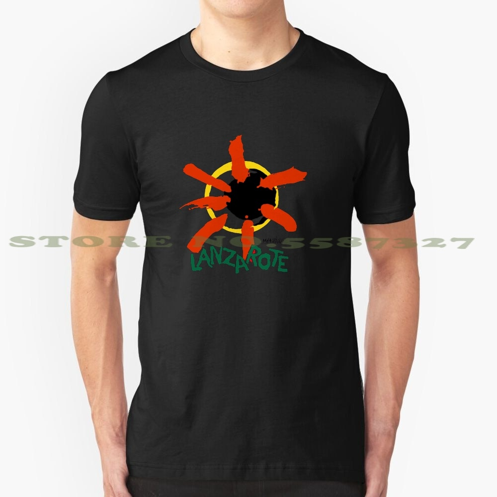 Lanzarote - Spain Summer Funny T Shirt For Men Women Spain Espana Logo Tourism Tourist Holiday Vacation Lanzarote Canary Islands