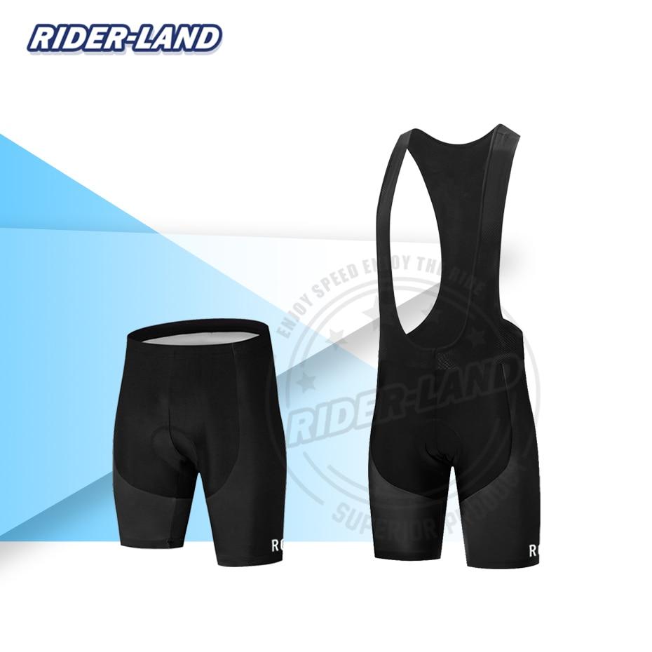 Summer cycling shorts RCC 2020 New Road Bike Men Cycling Bib Shorts Breathable 19D Gel Pad Anti Slip MTB Black Ropa Ciclismo