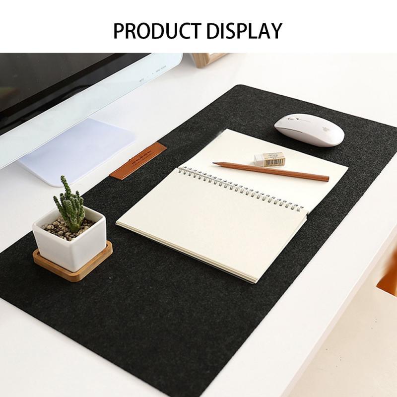 300*600mm Hot Felts podkładka pod mysz do gier biurko klawiatura laptopa mata filcowa włóknina prosta komputerowa mysz do laptopa podkład na biurko
