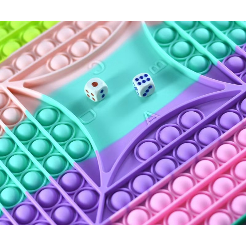 2021 New 40cm Super Big Size Push Bubble Toys Autism Needs Squishy Stress Reliever Toys Adult Kid Fidget Family Table Board Game enlarge