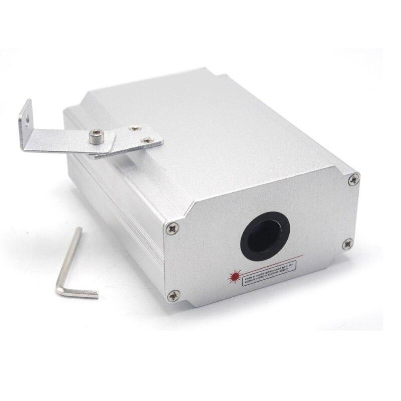 532нм 200 мВт жир луч зеленый лазер диод модуль сцена освещение луч расширитель 12В