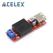 Tablero convertidor de salida USB de 5V DC-DC módulo Buck KIS3R33S de 7V-24V a 5V 3A reductor no aislado KIS-3R33S protección contra sobrecorriente
