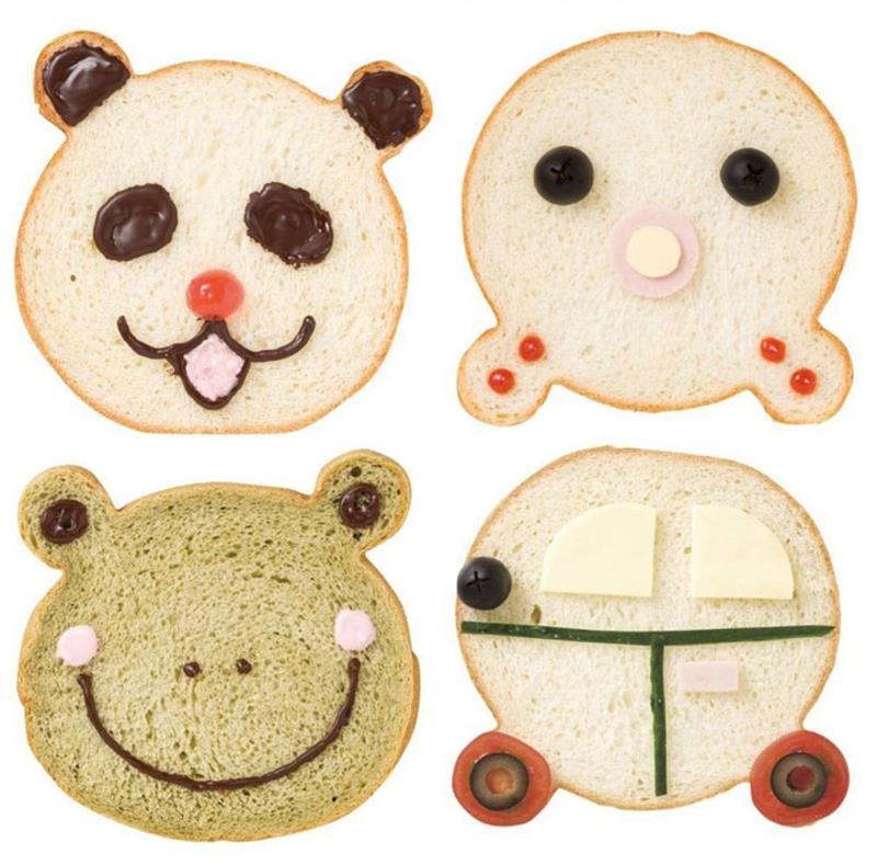 الذهبي غير عصا الدب رئيس قالب الخبز نخب قالب الدب الكرتون كعكة الخبز قالب موس الدائري اكسسوارات المطبخ قالب الكعكة
