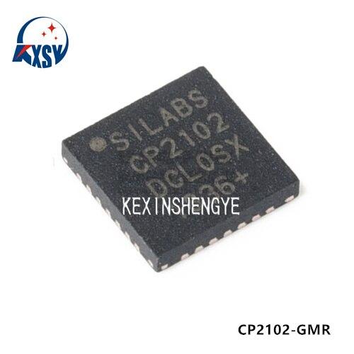 5 Unids/Lote CP2102 CP2102-GMR QFN-28 CP2102-GM Controlador De Puente Usb Een Uart Ic