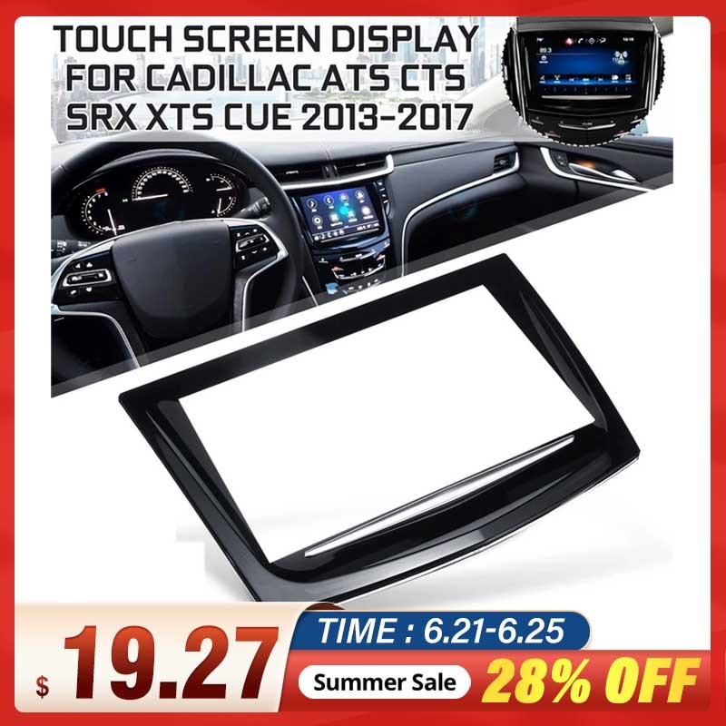23106488 For Touch Screen Display For Cadillac Escalade ATS CTS SRX XTS CUE 2013-2017 sense for touch display digitizer