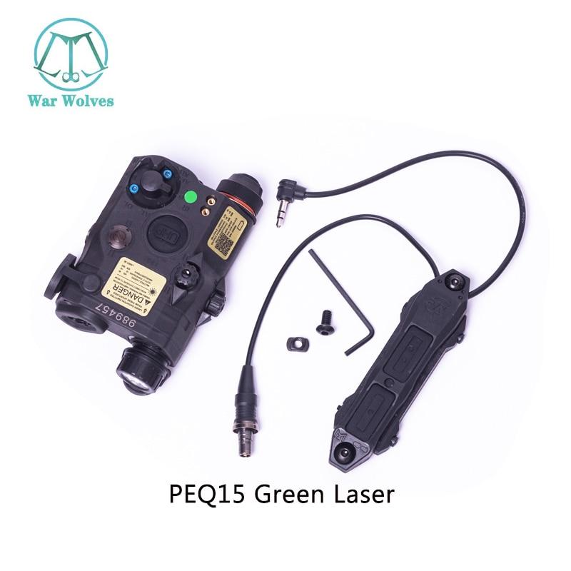 Tático airsoft lanterna peq laser verde LA-5C uhp ir laser led ir laser la5 softair com tático peq luz strobe