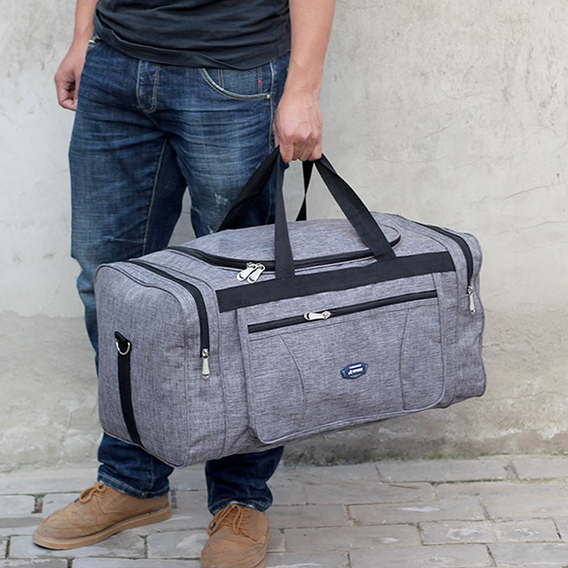 New Oxford Waterproof Men Travel Bags Hand Luggage Big Travel Bag Overnight Duffle Business Large Capacity Weekend Travel Bag