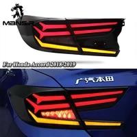 led car taillight tail lamp brake reversing reverse rear fog lights for honda accord 2018 2019 2020 backup reflector bumper
