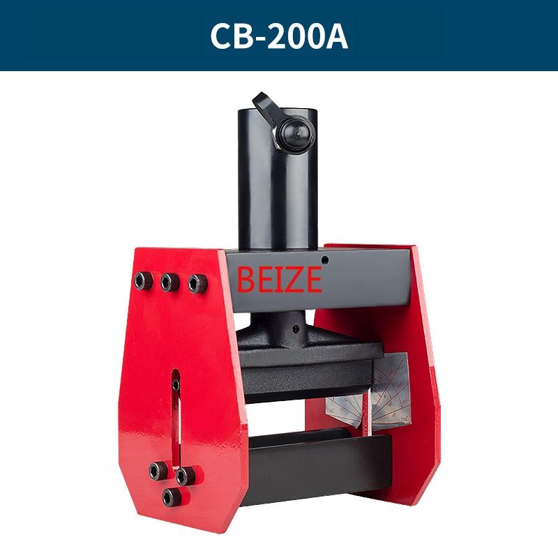 BEIZE CB-200A Hydrauilc بسبار بندر النحاس الانحناء أداة ل 12 مللي متر ماكس من ورقة ، ينطبق على AL/ Cu ورقة