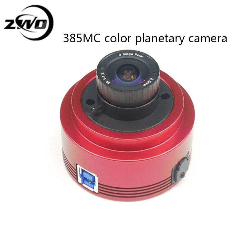 ZWO ASI385MC cámara (color) alta sensibilidad gran formato planetario Cámara guía estrella cámara ocular electrónico