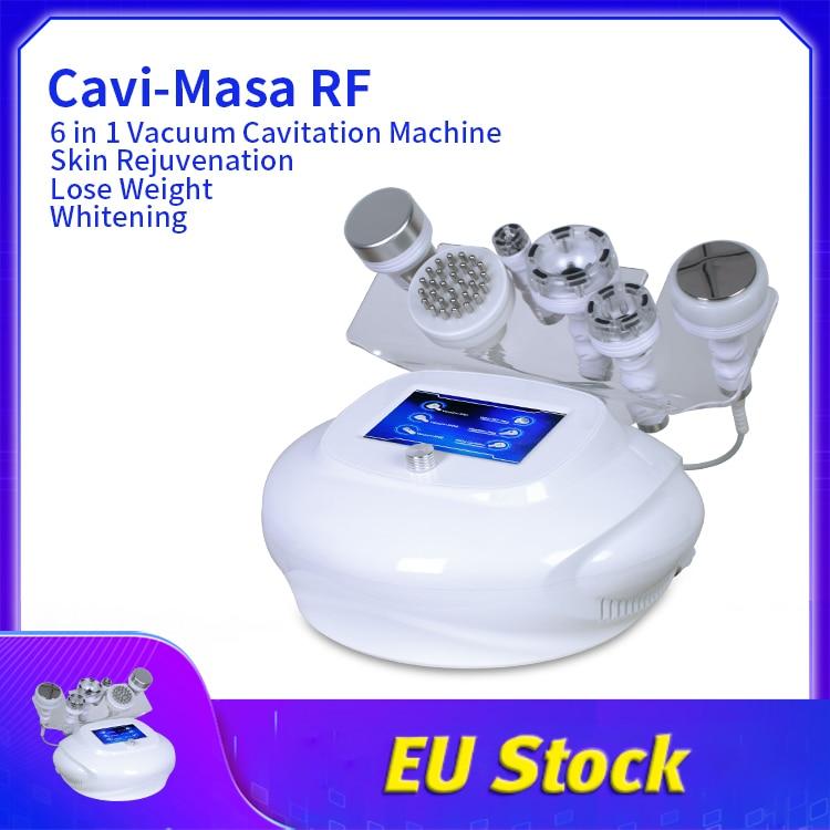 فراغ RF تجديد الجلد المضادة للتجاعيد 80K بالموجات فوق الصوتية التجويف الدهون إزالة آلة شفط الدهون للاستخدام سبا