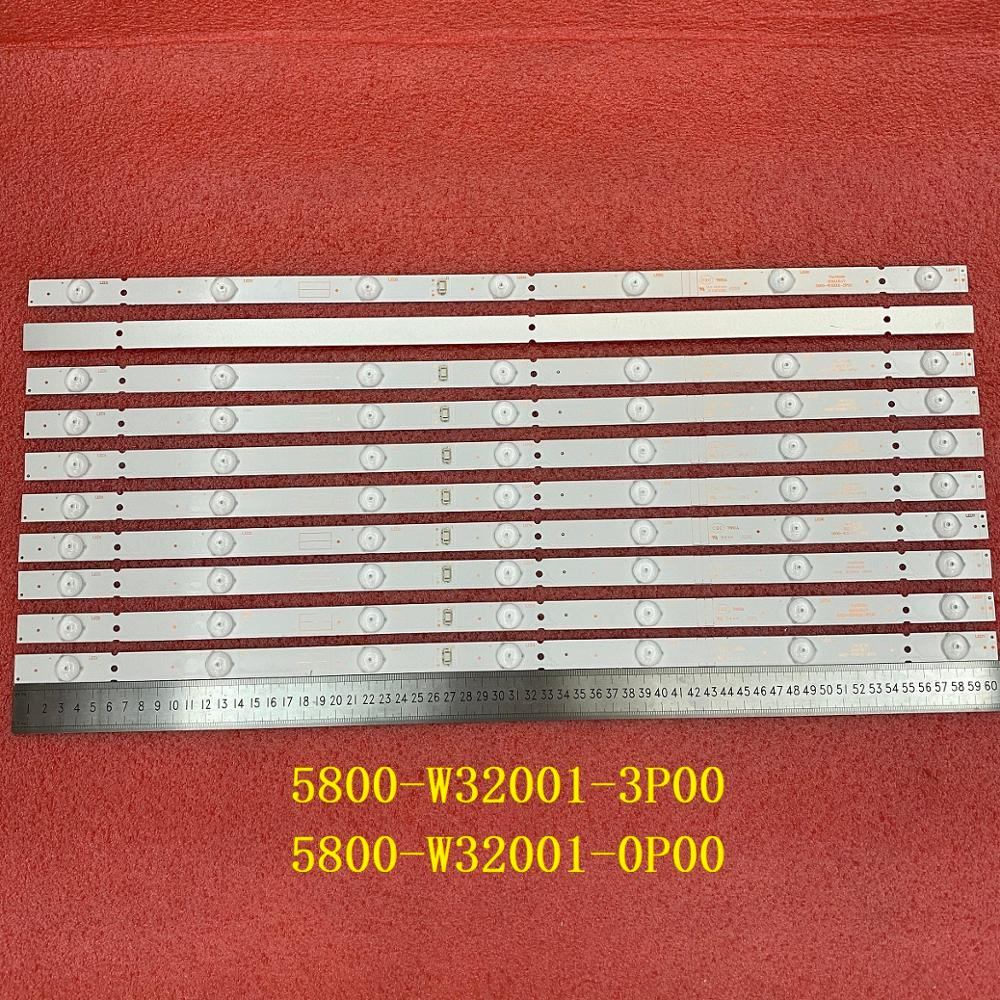 15 قطعة/الوحدة 7LED LED الخلفية قطاع ل Skyworth 32E3 32X3000 32E3000 32HX4003 5800-W32001-3P00 0P00 CRH-A323535030751AREV1