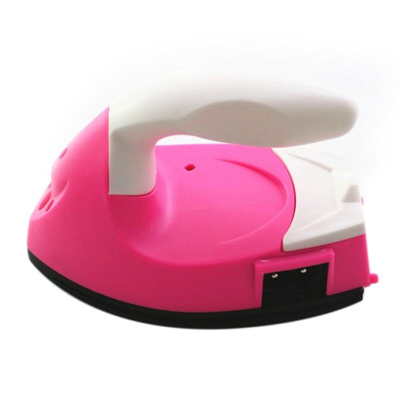 ¡Superventas! Miniplancha eléctrica portátil para viaje DIY manualidades para ropa suministros de costura enchufe de la UE