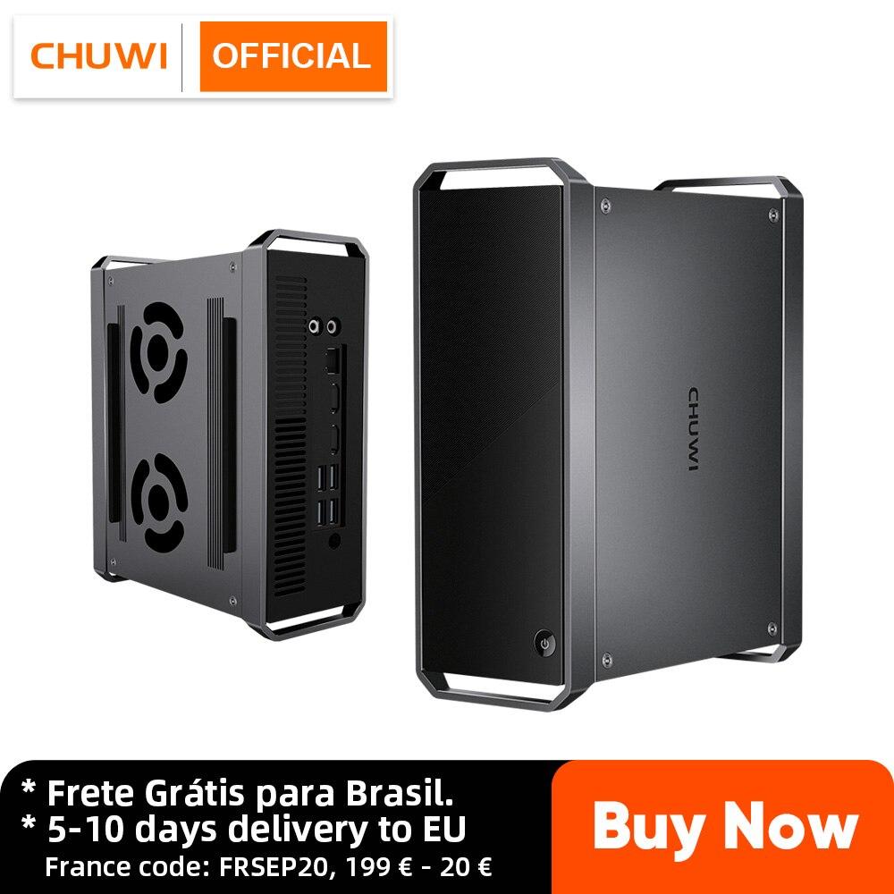 Promo CHUWI CoreBox Mini PC Intel Core i5 Windows 10 OS 8GB RAM 256GB ROM 2.5 inch HDD expansion BT4.2, 2.4G/5G Wifi 2*HD
