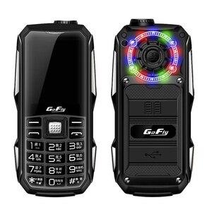 Цветной светодиодный блок питания 6800 мАч, GSM мобильный телефон, волшебный голосовой фонарь, скоростной циферблат, fm-радио, недорогой мобильн...