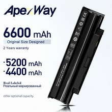 11.1V batterie Dordinateur Portable J1KND Pour Dell Inspiron N5010 N4010 N5110 N7010 N7110 13R 14R 15R 17R Pour Vostro 1450 3450 3550 3750 07XFJJ