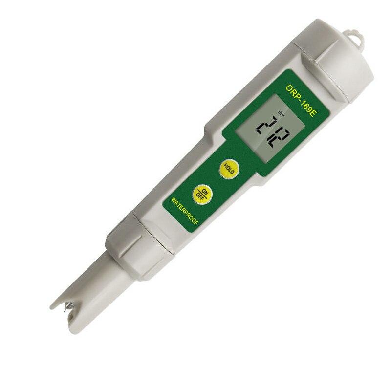 Teste caneta monitoramento da qualidade da água ORP-169E caneta teste de redução de oxidação potencial caneta orp medidor negativo potencial uma peça ch