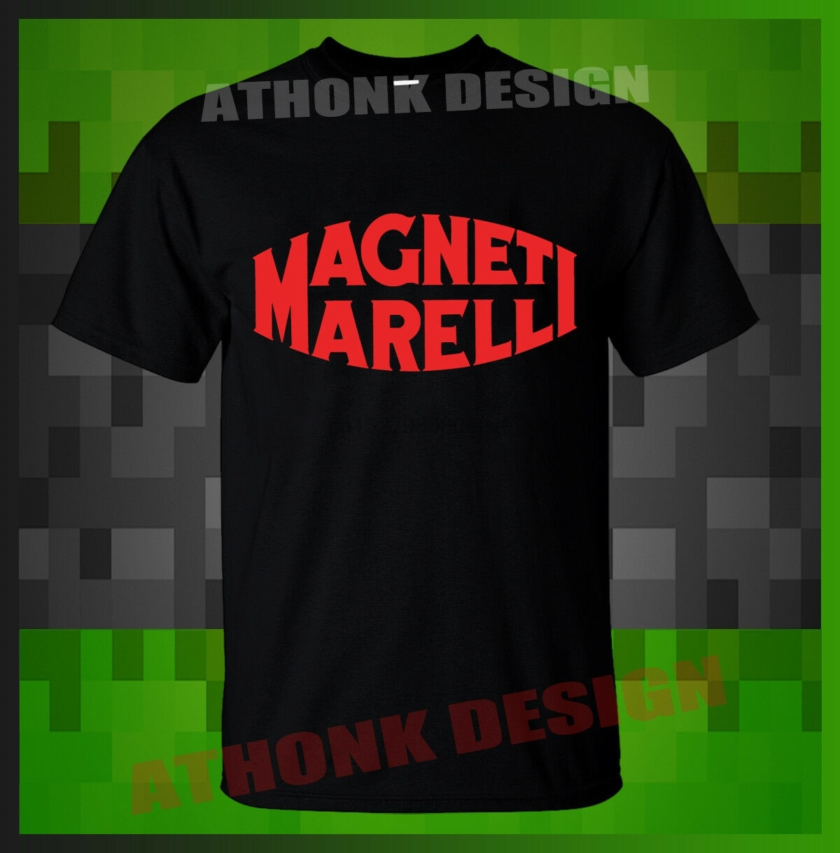Camiseta nova de magneti marelli