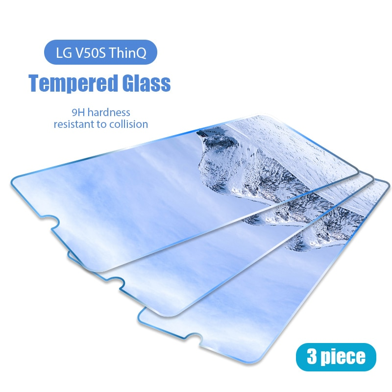 1/2/3 Pieces Protective Glass For LG Q Stylo 4 HD Screen Protector For LG Q Stylus Q7 Q8 Q9 Q51 Q60 Q61 Q70 Front Glass Film
