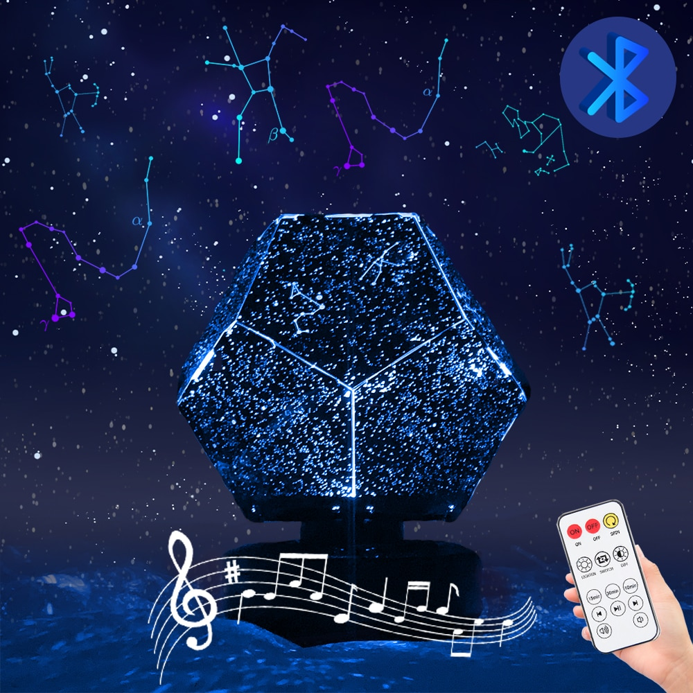 led usb nordic milky way night light scandinavia chic planet night lamp for baby bedroom christmas decor photo props kids gift Star Projector LED Night Light Bluetooth Galaxy Projector Starry Sky Lamp Christmas GiftFor Kids Bedroom Decor Star Lamp