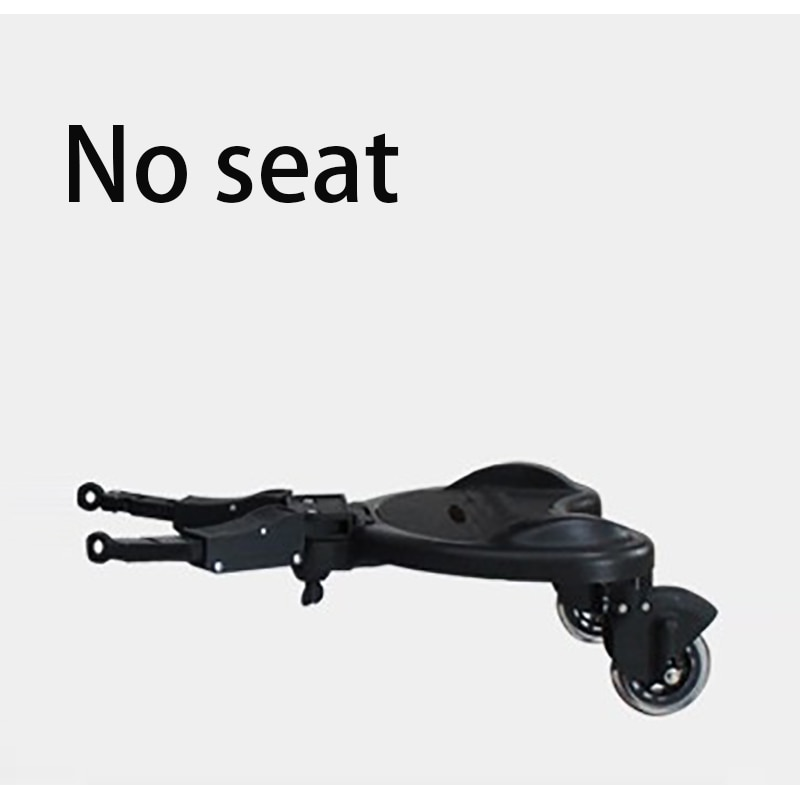 Baby Stroller Auxiliary Pedal Universal Model Big and Small Tandem Traveler Two-wheeler Can Stand Small Tail Car Trailer Pedal enlarge